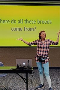 Amanda Posing the Rhetorical Question on Where All These Breeds Came From